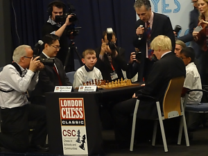 Chess Tournament at London Olympia