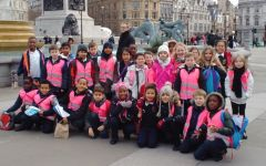 Year 3 visiting Tower of London and Tragalgar Square